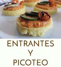 ENTRANTES Y PICOTEO