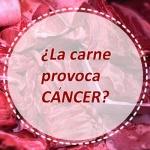 ¿El consumo habitual de carne aumenta el riesgo de padecer cáncer?