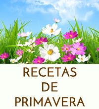 RECETAS PRIMAVERA