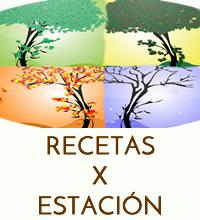 RECETAS X ESTACION