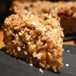 Crumble de Manzana – Receta Vegana