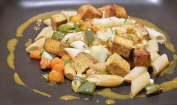 pasta con tofu
