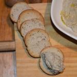 Paté de Champiñones  y Almendra