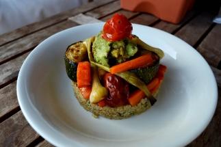 quinoa y verduras