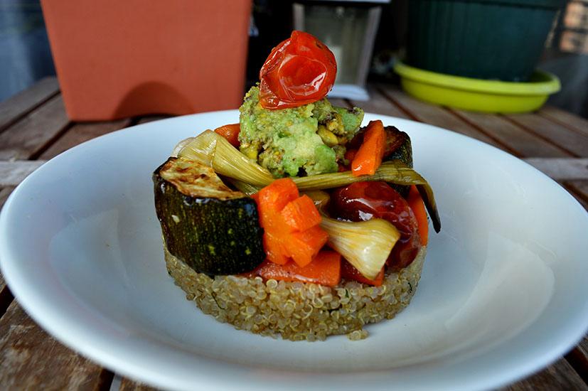 quinoa y verduras destacada
